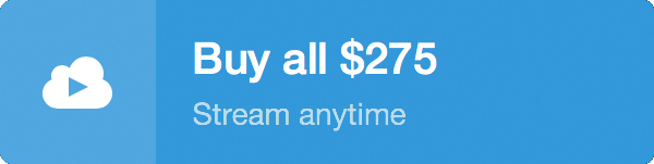 Vimeo Food Healing Stream $275 Buy Button 2017