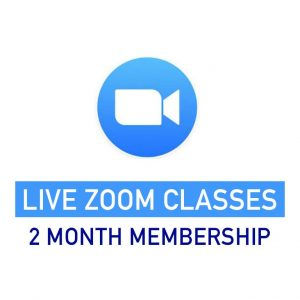 2 month membership live zoom classes