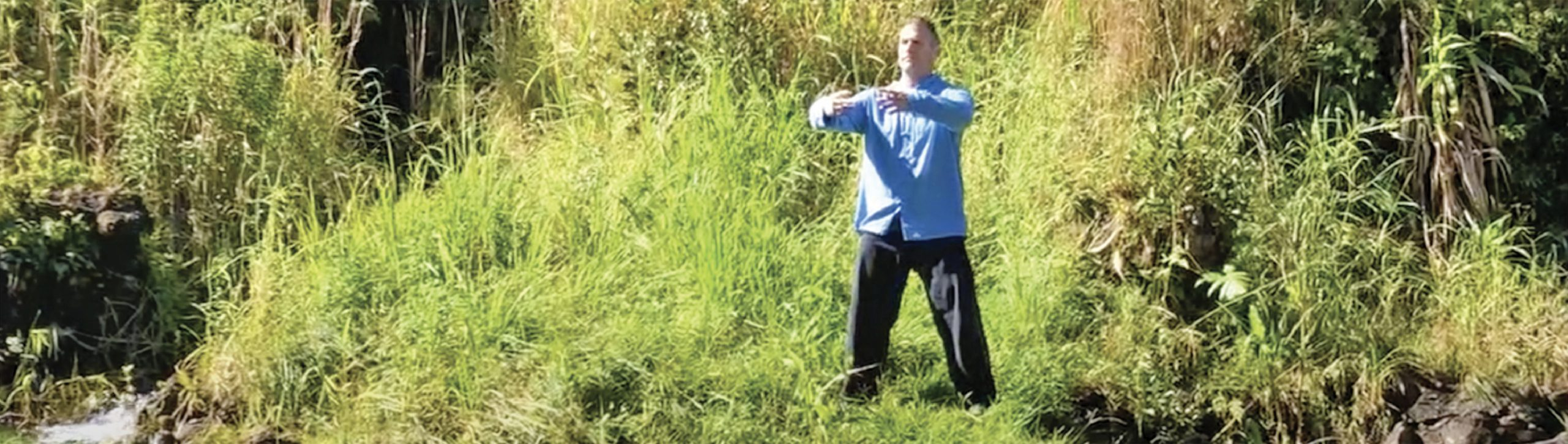 Qigong Rooted Posture Brings Energy and Peace...